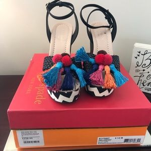 Kate Spade Delancey Espadrille Size 6.5 New in box